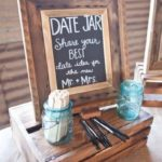 Date Jar Unique Wedding Ideas Reception Ideas Get Your Guests Involved